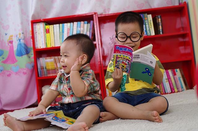 読み聞かせ、幼児、言葉